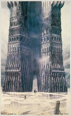 Orthanc after the flooding of Isengard