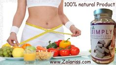 It's not about being skinny - it's about being healthy! EFSA approved health claim for weight loss High quality formula with glucomannan Natural, healthy, dietary fibre.  'Simply Weight Loss' can be ordered now at www.Zolariss.com