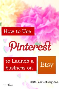 How to Start an Etsy Business Using Pinterest. Interview with Etsy Shop owner Julie Grandbois from Julie's Elegant Crafts on the Pictures to Profits Podcast.