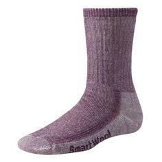 SmartWool Women's Hike Medium Crew Socks, Purple