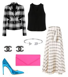 Untitled #452 by sara-scagnoli on Polyvore featuring moda, Proenza Schouler, Versace, Novis, ALDO, Chanel and Bling Jewelry