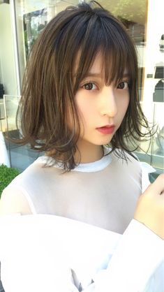 Hair Care Tips and Tricks Kawaii Hairstyles, Hairstyles With Bangs, Cool Hairstyles, Bangs With Medium Hair, Medium Hair Styles, Short Hair Styles, Long Ombre Hair, Extreme Hair, Japanese Hairstyle