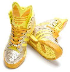 meet 6a891 f0db7 Adidas x Jeremy Scott Spring 2010 1 Pink Beige, Baskets Adidas, Adidas Shoes ,