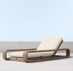 St. Barts Weathered Teak (Outdoor Furniture CG) | RH Modern
