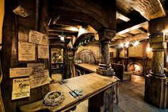They: OMG THIS IS ORGEBERN'S SHOP! Anyway, this is particularly a blacksmith shop, along with tools too! GAHH IM FANGIRLING AGAIN