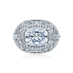 Tacori style no. HT2612CU10X8. A beautiful new style from Tacori. Would love it even more if it was the other way.