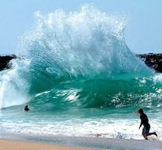 The Wedge, Balboa , Newport Beach California