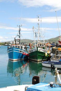 Castletownbere, West Cork, fishing boats
