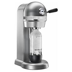 best soda maker 2020 to get your drinks carbonated with these sparkling water makers in your kitchen easily. buy soda maker machines with discount from HERE Small Kitchen Appliances, Kitchen Gadgets, Cool Kitchens, Kitchen Small, Kitchenaid, Best Soda, Soda Drink, Maker Shop, Specialty Appliances