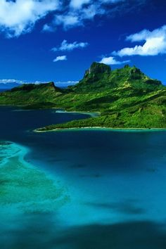 Bora Bora is an island in the Leeward group of the Society Islands of French Polynesia, an overseas collectivity of France in the Pacific Ocean.  a major international tourist destination, famous for its aqua-centric luxury resorts