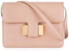 TOM FORD Sienna Small T-Buckle Crossbody Bag, Blush