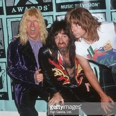 #Happybirthday to #MichaelMcKean who turns 69 today!  Here's Michael aka #DavidstHubbins with #HarryShearer aka #DerekSmalls and #Christopherguest aka #NigelTufnel #Spinaltap during the 1991 #MTVvma Video Music Awards at the Universal Amphitheater in LA CA #actor #comedian #laverneandshirley #bornonthisday #lennyandsquiggy #thisisspinaltap #snl #saturdaynightlive #hollywood #mondayfunday #comedyrock #rockumentary #robreiner  #paparazzo #ron_galella