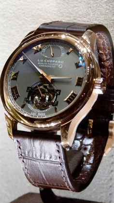 Chopard This is a $40,000 dollar watch, they range as High as $75,000