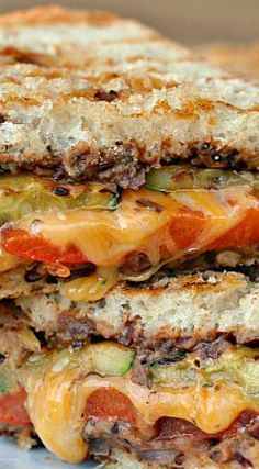 Mexican-Style Grilled Vegetable Sandwiches