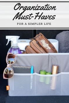 Organization Must-Haves & Gadgets for an Easier, Simpler Life | The Inspired Home