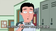 Family Guy Clip - Men: We don't know what we did