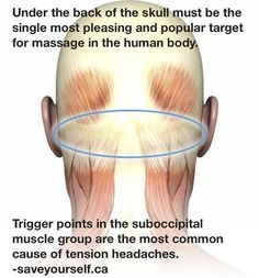 Massage for headaches