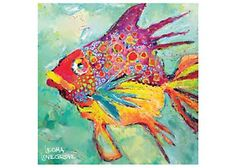 This absorbent gypsum and cork backed coaster from Thirstystone helps protect tabletops from messy drips and features the vibrant and Florida themed art of Leoma Lovegrove. Coaster measures 4.25'' x 4.25''.