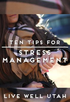 As the weather gets colder, and the holidays approach, tips to manage stress are necessary! Check out the Live Well Utah blog.