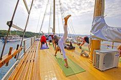 Entspannen und Kroatien entdecken bei einer Yogakreuzfahrt