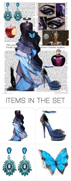 """Evil Queen"" by sixela14 ❤ liked on Polyvore featuring art"
