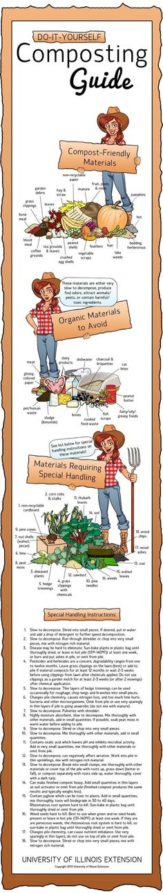 Infographic – Composting. What To, What Not To and How To. Click here: http://marclanders.com/infographic-composting-what-what-not-and-how-to/
