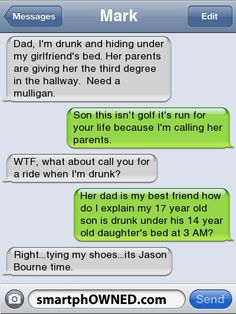Need a Mulligan - Ownage - Aug 25, 2011 - Autocorrect Fails and Funny Text Messages - SmartphOWNED