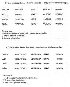 raciocínio lógico - MARIANGELA VOLPINI - Álbuns da web do Picasa