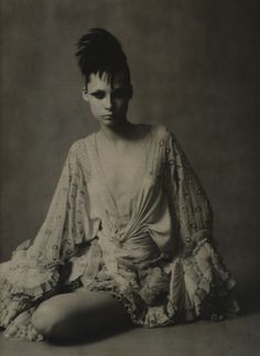 photographed by Paolo Roversi - Vogue Italia Couture Supplement: September 2003 - The Poetic Spirit