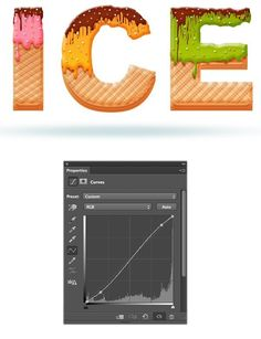 Today I will show you how to create an awesome ice cream text effect! The process is simple enough for any level Photoshop lover. We will use the basic tools and effects along to achieve the final out