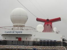 "Carnival Spirit, our ""home"" for the Alaska cruise.  May 8th-15th, 2012.."