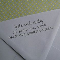 Exceptional Custom Address Stamp   Use It For The Return Address On Save The Dates, Wedding  Invites And Thank You Notes, As Well As The Main Address On Your RSVP ...