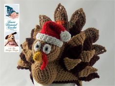 Holidurkey Turkey Hat - Any Size - Any Color
