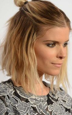 2016 Mittellanges Halb Hochsteckfrisuren  Elegante Frisuren für Moderne Haar