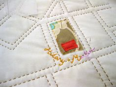 Summer Projects - Making a quilt-map of you're favorite city!