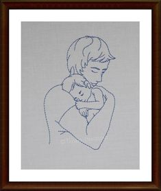 Father and Baby Baby Drawing Easy, Easy Drawings, Pencil Drawings, Paneer Pizza, Pregnancy Drawing, 1st Fathers Day Gifts, Baby Sketch, Father And Baby, Easy Doodle Art