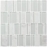 Glass Mood Cold Mosaic 11.42 x 11.42