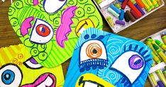 Cassie Stephens: In the Art Room: Monsters of Creativity