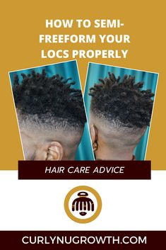 Many people believe that when you decide to semi-freeform your locs, that you can neglect them and be rewarded with thickness. That is NOT the case. Starter Locs, Hair Care Tips, People, People Illustration, Folk, Hair Care