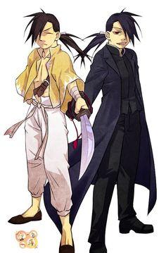 Ling Yao and Greed        _Fullmetal Alchemist Brotherhood