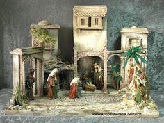 Imagen relacionada Xmas Decorations, Diy And Crafts, Painting, Christmas, Ideas, Christmas Lanterns, Christmas Manger, Little Cottages, Manualidades