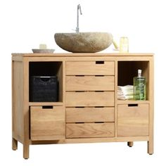 You should see this Serena Solo Vanity Cabinet in Teak on Daily Sales!