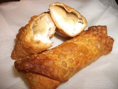 crab rangoon egg rolls; so yummy, the best thing ever!!!