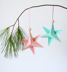 These holiday ornaments are a snap to make.