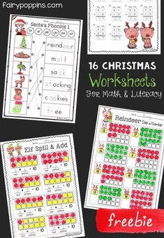 Free Christmas Worksheets | Fairy Poppins