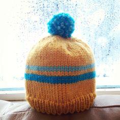 Retro baby ski hat -- Free Pattern   Alaska Knit Nat