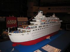 lego inspiration - love boat!