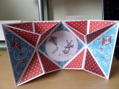 Pop out card with  Craftwork cards Warren Rabbit