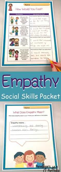 This character education - social skills packet is filled with lessons teac Teaching Social Skills, Teaching Kids, Kids Learning, Special Education Teacher, Teacher Resources, Coping Skills, Life Skills, Social Thinking, Parents As Teachers