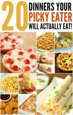 20 Dinner Recipes for Picky Eaters – Six Sisters' Stuff